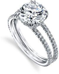 Harry Kotlar - Round Brilliant Arabesque Ring - Lyst