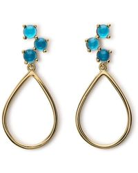 Maviada - Antibes Vermeil Yellow Gold Earrings - Lyst