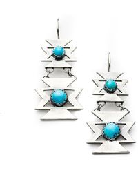 Meltdown Studio Jewelry - Butterfly Earrings - Lyst