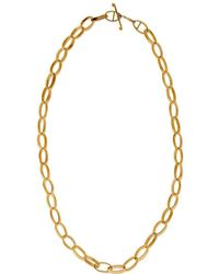 Sarah Macfadden Jewellery - 14kt Gold Impala Necklace - Lyst