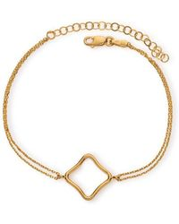 Maviada - Bodrum Vermeil Yellow Gold Bracelet Medium - Lyst