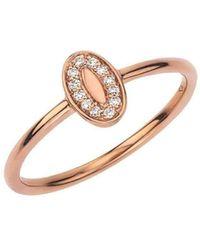 Alexa Leigh - Rose Gold Poppy Ring - Lyst