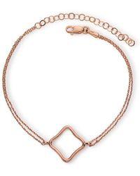 Maviada - Bodrum Vermeil Rose Gold Bracelet Medium - Lyst
