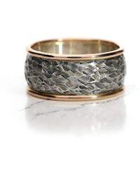 Mark Lloyd Jewellery - Thor Palladium Rose Ring - Lyst