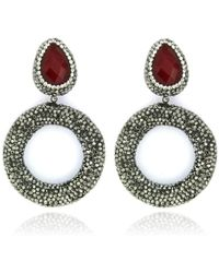 Cosanuova - Pearl Drop Earrings - Lyst