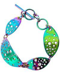 Stefano Salvetti - Nano Ceramics Ineludibile Bronze Bracelet - Lyst
