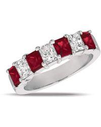 Gemlok for Gemveto - Radiant Ruby Ring - Lyst