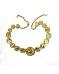 Will Bishop - Gold Vermeil Bottle Top Necklace - Lyst