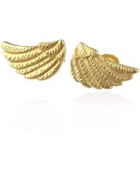 Jana Reinhardt Jewellery - Golden Wing Ear Studs - Lyst