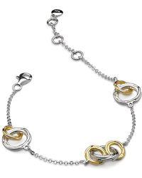 Kit Heath - Infinity Coco Link Bracelet - Lyst