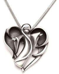 Annika Rutlin - Halo Dark Angel Necklace - Lyst