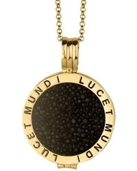 Lucet Mundi - Large Gold 'naughty Noir' Crystal Coin Starter Set - Lyst