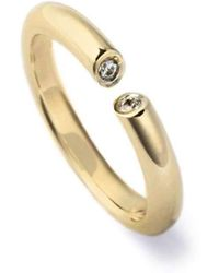 Ehinger Schwarz 1876 - Dialog Ring Yellow Gold - 0.15ct - Lyst