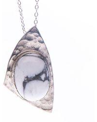 Roseanna Croft Jewellery - Howlite Earth Necklace - Lyst