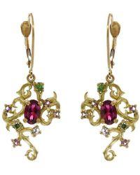 Enamorata - Kindred Tourmaline Earrings - Lyst