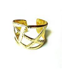 Beryl Dingemans Jewellery - Geometric Cuff - Lyst