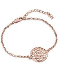 Hoochie Mama - Rose Medallion Bracelet - Lyst