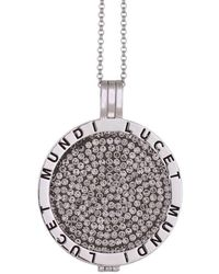 Lucet Mundi - Large Silver Smoky Siren Crystal Coin Starter Set - Lyst