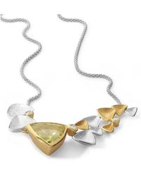 Charmian Beaton Designs - Mariposa Cocktail Necklace - Lyst