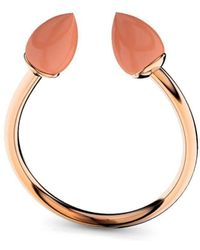 MARCELLO RICCIO - Rose Gold & Coral Ring - Lyst