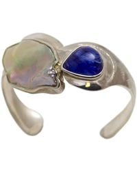 Lainey Papageorge Designs - Morpho Helenor Marineta Butterfly Cuff - Lyst