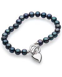 Kit Heath - Desire Lustrous Peacock Pearl Toggle Bracelet - Lyst