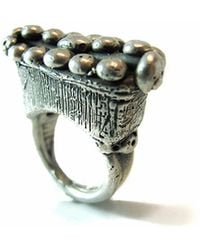 Private Opening - Cleopatra Sterling Silver Ring - Lyst
