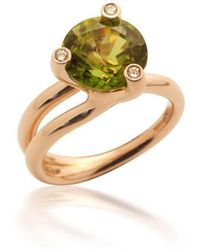 Justin Richardson - Red Gold Trio Ring - Lyst
