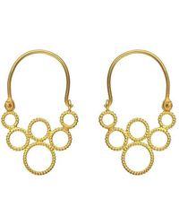 Christina Soubli - Tiny Hoop Earrings - Lyst