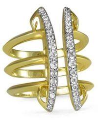 REALM - Sceptre Linea Corset Ring - Lyst