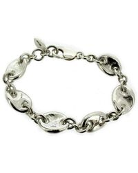 Will Bishop - Sterling Silver Chunky Link Bracelet - Lyst