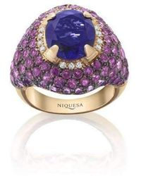 Niquesa Fine Jewellery - Venice Columbina Amethyst Ring - Lyst