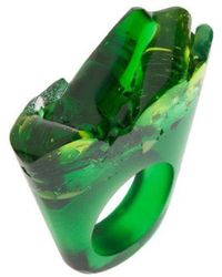 Pasionae - Murano Green Ring - Piety - Lyst