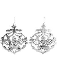 Murkani Jewellery - Andalusia Silver Earrings - Lyst