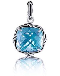 Peter Thomas Roth Fine Jewelry - Fantasies Blue Topaz Enhancer Sterling Silver - Lyst