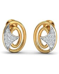 Diamoire Jewels Flower-patterned 18kt Rose Gold Diamond Stud Earrings BC2nnCns