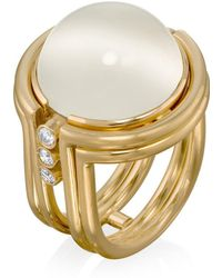 Rose Carvalho - Colors Of The Universe Moon Stone Ring - Lyst