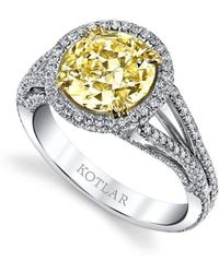 Harry Kotlar Round Brilliant Luminesce Ring
