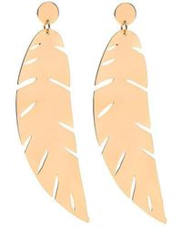 Susan Driver - Gold Plated Sunset Drop Earrings | - Lyst