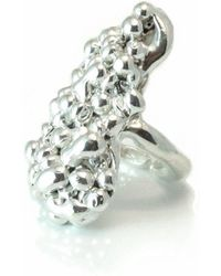 Private Opening - Caviar Sterling Silver Shiny Ring - Lyst