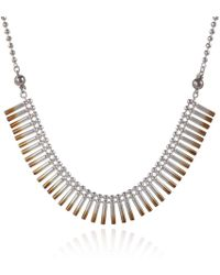 Cara Tonkin - Rose Gold Theda Cleo Interchangeable Bracelet/necklace - Lyst