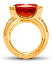 Hargreaves Stockholm - Ethical Fine Jewellery - Freyr Ring - Lyst