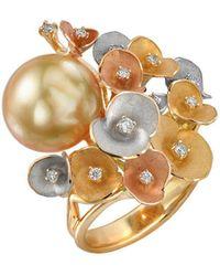 Chekotin Jewellery - Bouquet Of Flowers Eden Ring - Lyst