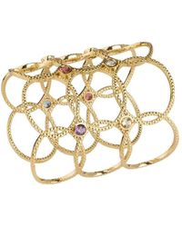 Emily Mortimer Jewellery - Wanderlust Multicolour Gemstone Cuff - Lyst