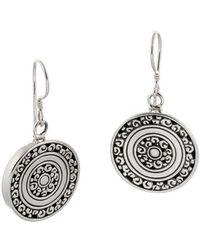 Desert Pearl - Sterling Silver Cosmic Earrings - Lyst