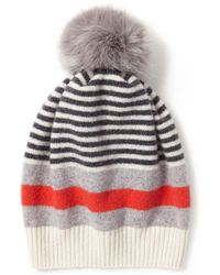 Jigsaw - Kilda Faux Fur Pom Hat - Lyst