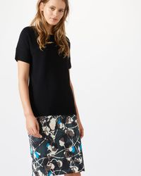Jigsaw - Floral Thistle Pencil Skirt - Lyst