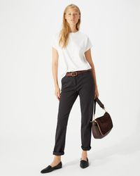 Jigsaw - Luxe Drill Cotton Chino - Lyst