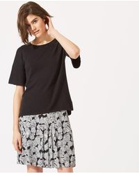 Jigsaw - Poppy Fields Flippy Skirt - Lyst
