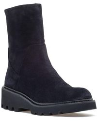 275 Central - 17865 Boot Navy Suede - Lyst